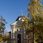 Кронштадт. Часовня Тихвинской иконы Божией Матери на проспекте Ленина.