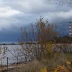 Музей Дороги жизни в поселке Ладожское озеро. На берегу.