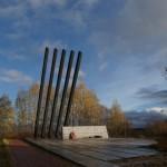 "Монумент ""Катюша"" на 17-м км Дороги жизни."