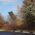 """У мемориала """"Катюша"""" на 17-м километре Дороги жизни."""