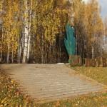 """У мемориала """"Румболовская гора"""". Всеволожск."""