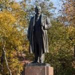 Кронштадт. Памятник Ленину в сквере у проспекта Ленина.