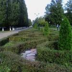 Старый Оскол. В парке Металлургов в микрорайоне Олимпийском.