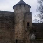 Ивангородская крепость. Воротная башня.