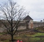 В Ивангородской крепости.