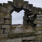 Ивангородская крепость. Стены старого Арсенала.