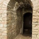 В Ивангородской крепости. Вход на винтовую лестницу в башне.