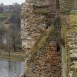 На стенах Ивангородской крепости.