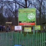 У Старооскольского дендропарка.