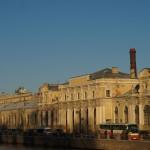Соляной городок в Петербурге.