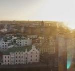 Выборг. Вид с башни святого Олафа.