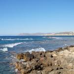 На Средиземном море у гаванив Ханье.