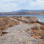 В венецианской крепости на острове Грамвуса у берегов Крита.