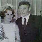 Студенческая свадьба-1968. Зоя Шиловская и Геннадий Алексеев.