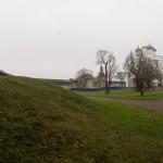 В Псковском Кремле. Соборный сад Каверина.