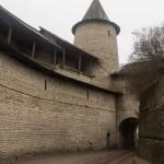 Псковский Кремль. Тактически укрепленный вход (выход) в крепость.