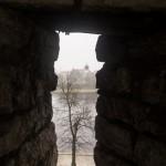Псковский Кремль. Вид на реку Великую.