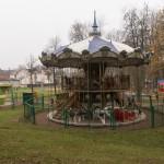 Псков. Карусель в Детском парке.