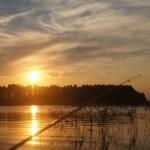 Вуокса летом. На рыбалке.