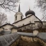 Пушкинские Горы. В Святогорском монастыре.