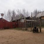 """Пушкинские горы. """"Зооград"""". У входа."""