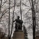 Пушкинские Горы. Памятник Пушкину.