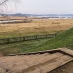 Пушкинские Горы. Михайловское. Вид на озеро Кучане от дома-музея.
