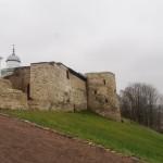 Изборская крепость на Жеравьей горе.