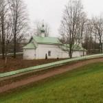 Церковь святых Сергия Радонежского и Никандра Псковского.
