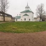 Изборская крепость. Никольский собор.