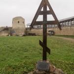 Изборская крепость. Вид на башню Луковка.
