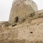 В Изборской крепости. Башня Вышка.