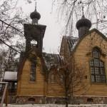 Воскресенская церковь в Суйде. Вид справа.