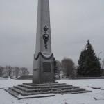 Мемориал в Гостилицах. 25-й км Гостилицкого шоссе.