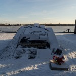Новая Ладога. Мемориальный комплекс в честь моряков Ладожской Военной Флотилии и речников северо-западного речного пароходства.