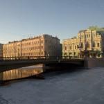 Лештуков мост и БДТ.
