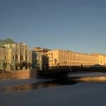 Лештуков мост через Фонтанку.