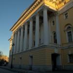 Здание Александринского театра. Боковой фасад.