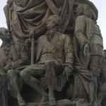 Памятник Екатерине Великой в сквере на площади Островского. Граф Орлов-Чесменский.