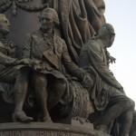 Памятник Екатерине Великой в сквере на площади Островского. Бецкой.