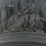Памятник Екатерине Великой в сквере на площади Островского. Княгиня Дашкова.