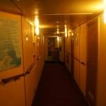 """На ледоколе """"Красин"""". В коридоре."""
