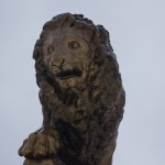Кингисепп. Бронзовый лев - памятник генералу Карлу Ивановичу Бистрому.