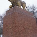 Кингисепп. Памятник генералу Бистрому в Романовке.