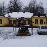 Кингисепп. Бывший инвалидный дом в парке Романовка. Ныне - лыжная база.