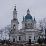 Кингисепп. Екатерининский собор в начале января.