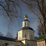 Осташков. Богородицкий монастырь. Вид с берега озера.