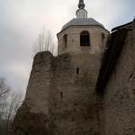 Порхов. Колокольня Никольского собора в Порховской крепости.