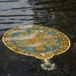 Новгород. У Ганзейского фонтана.