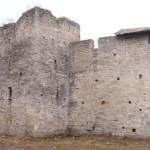 У Порховской крепости.